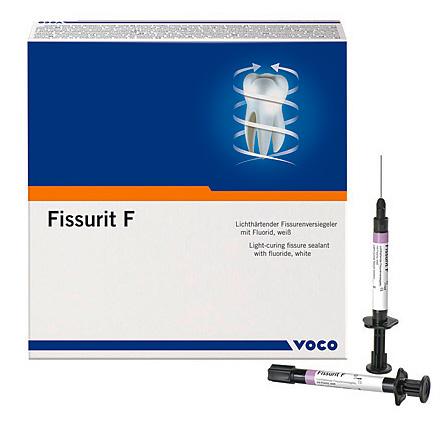Пример довольно эффективного средства от фиссурного кариеса - герметик Fissurit