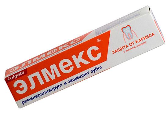 Зубная паста от кариеса для ежедневного применения - Элмекс (от Colgate)