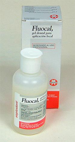 Реминерализующий препарат Fluocal Gel (Флюокаль гель)