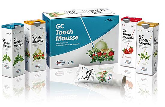Реминерализующий аппликационный крем GC Tooth Mousse