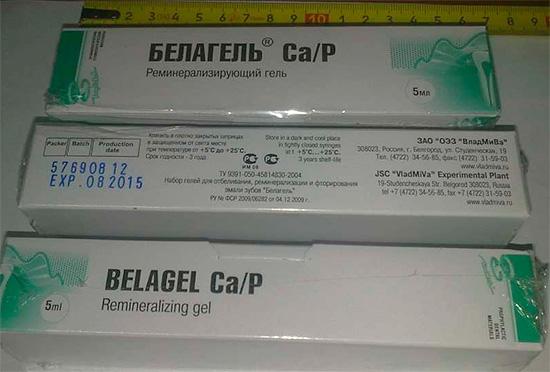 Реминерализующий гель Белагель Ca, P