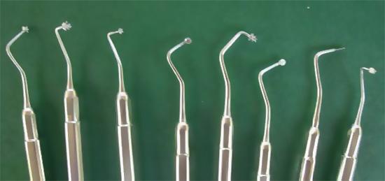Инструменты для атрамватического восстановительного лечения кариеса (ART-методика)