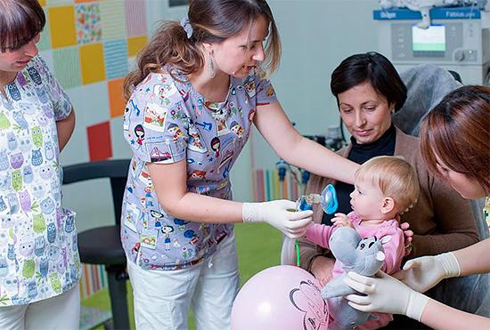Наркоз особенно часто применяется в детской стоматологии.