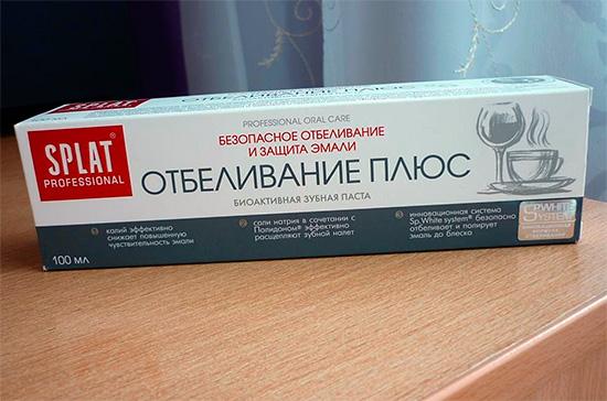 Биоактивная зубная паста Сплат Отбеливание Плюс