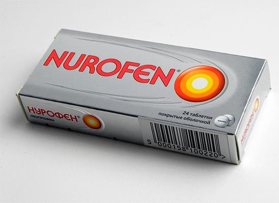Обезболивающий препарат Нурофен