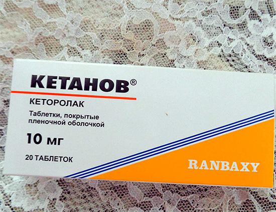 Ответы Mail Ru: кетанов помогает от головной боли?