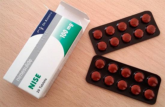 Обезболивающий препарат Найз (Nise)