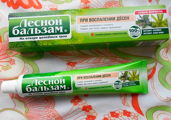 Знакомимся с зубными пастами из серии Лесной Бальзам...