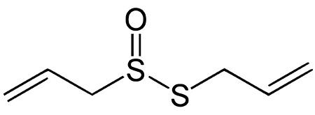 Аллицин - химическая формула