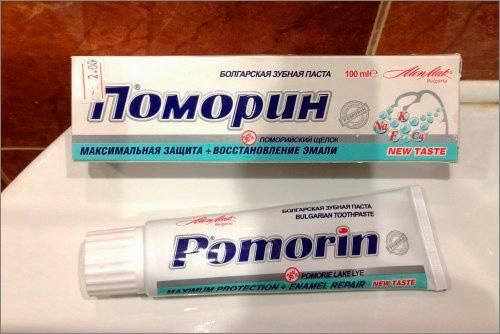 К сожалению, купить зубную пасту Поморин в РФ сегодня непросто...