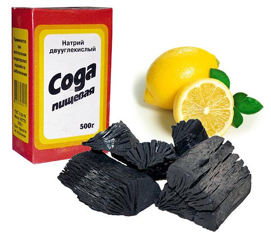 Сода, лимон и древесный уголь часто фигурируют в народных рецептах, позволяющих сделать улыбку чуточку белее.