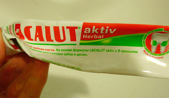 Lacalut Activ Herbal