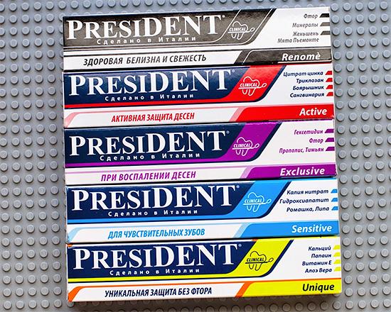 Ассортимент зубных паст Президент довольно велик, поэтому давайте разберемся, как правильно выбрать лучший вариант именно для своей ситуации...