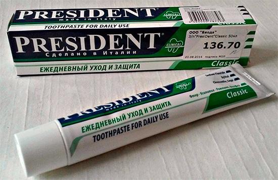 А вот этот продукт вполне подходит для ежедневного применения тем людям, которые не имеют каких-либо специфических проблем с зубами и деснами.