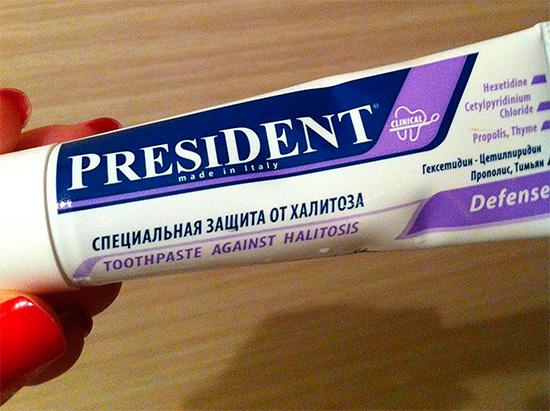 President Defense для защиты от халитоза