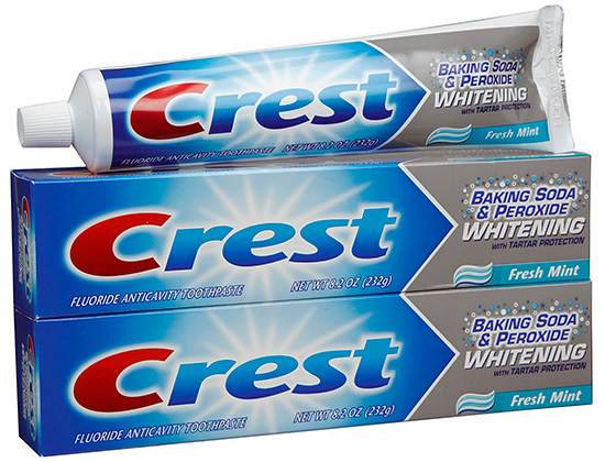 Crest Baking Soda & Peroxide Whitening