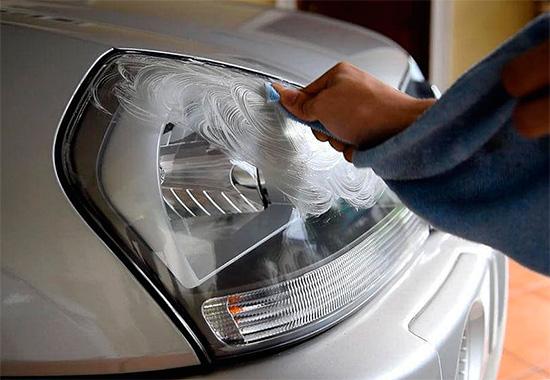 Это свойство можно использовать, например, для полировки автомобильных фар.