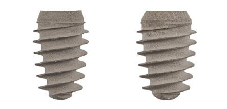 Такие импланты применяются для протезирования в области моляров.