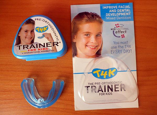 Силиконовый ортодонтический трейнер для детей